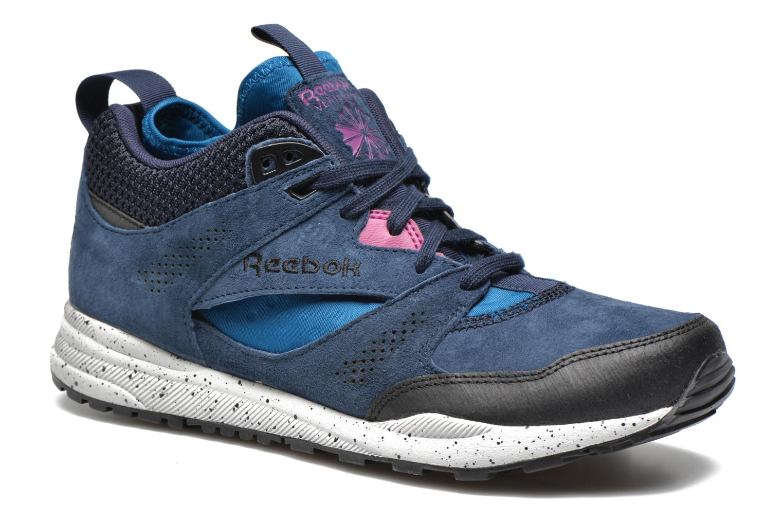 Baskets Reebok Ventilator Mid Boot Bleu vue détail/paire