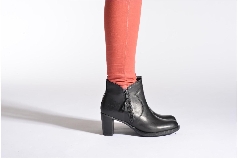 Bottines et boots P-L-D-M By Palladium Spring CT Marron vue bas / vue portée sac
