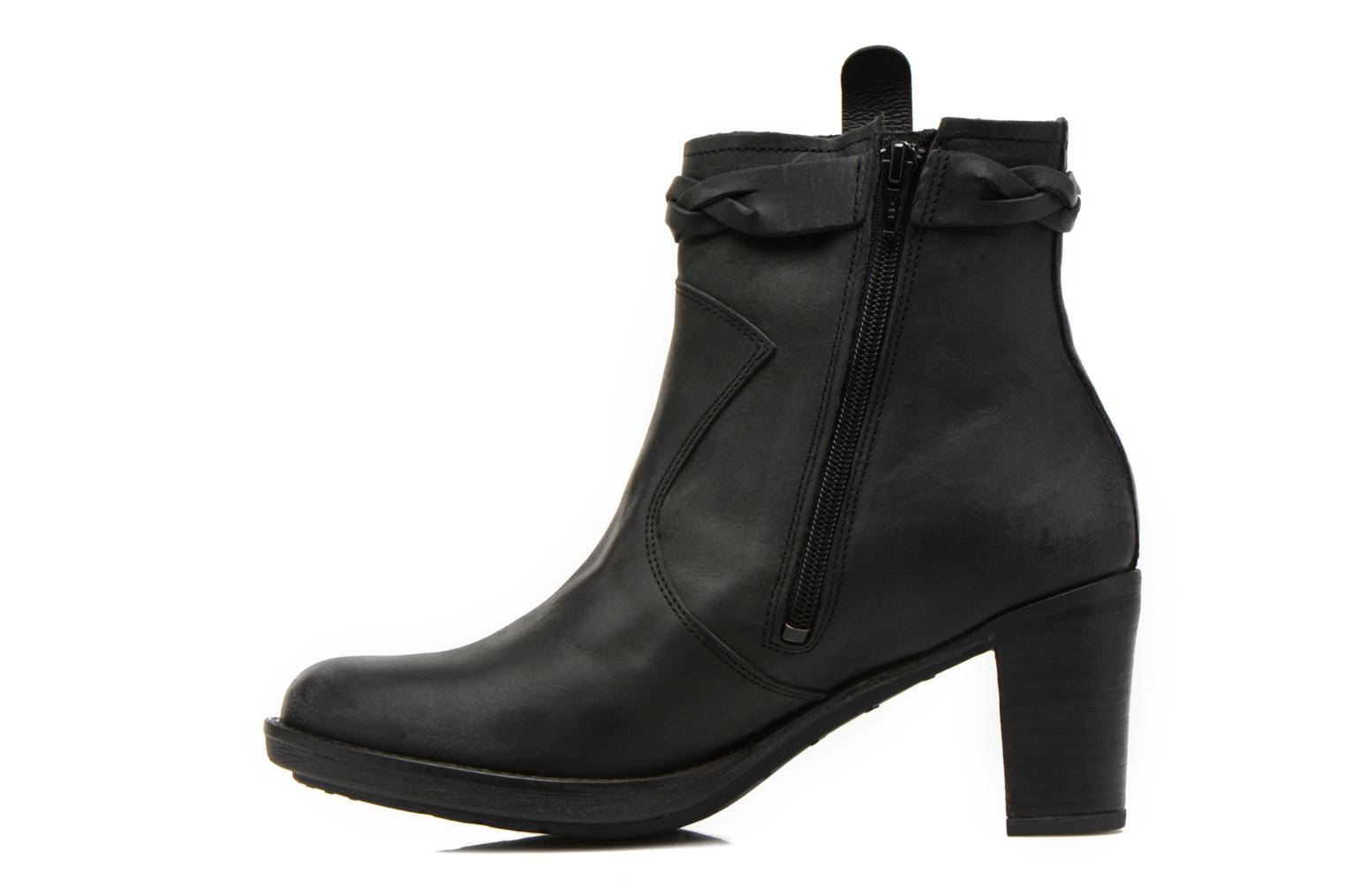 Bottines et boots P-L-D-M By Palladium Stony CSR Noir vue face