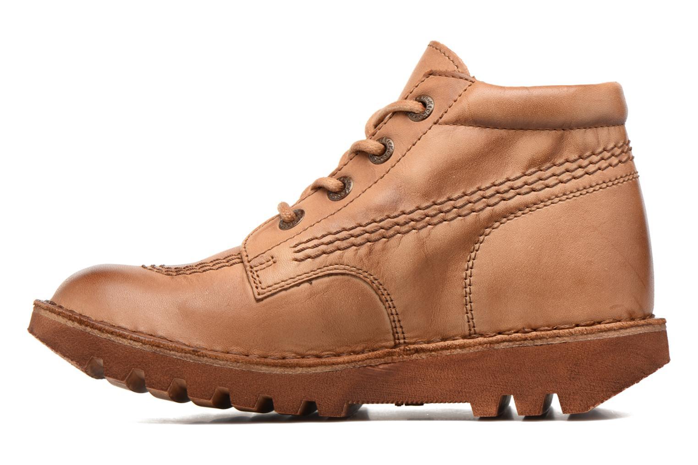 Chaussures à lacets Kickers Neorallye Marron vue face