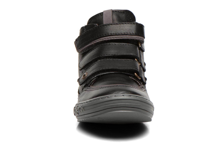 Baskets Kickers Jimini Noir vue portées chaussures