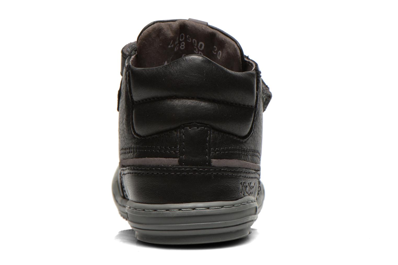 Baskets Kickers Jimini Noir vue droite