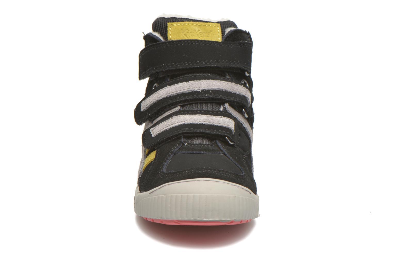Baskets Kickers Zigouille Noir vue portées chaussures
