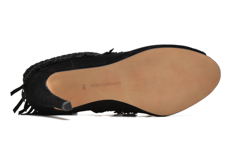 Bottines et boots Rebecca Minkoff Rio Noir vue haut