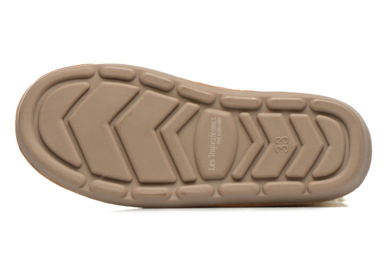Stiefeletten & Boots Les Tropéziennes par M Belarbi Loupiot beige ansicht von oben