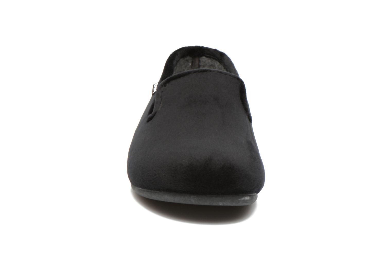 Chaussons Dim D Brack Noir vue portées chaussures
