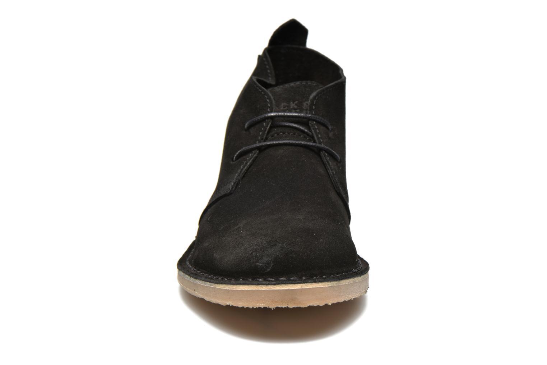 Chaussures à lacets Jack & Jones JJ Gobi Suede Desert Boot Noir vue portées chaussures