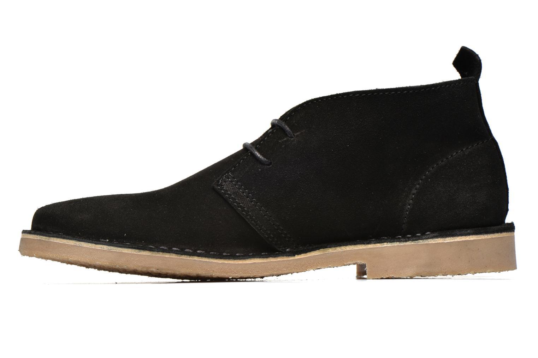 Chaussures à lacets Jack & Jones JJ Gobi Suede Desert Boot Noir vue face