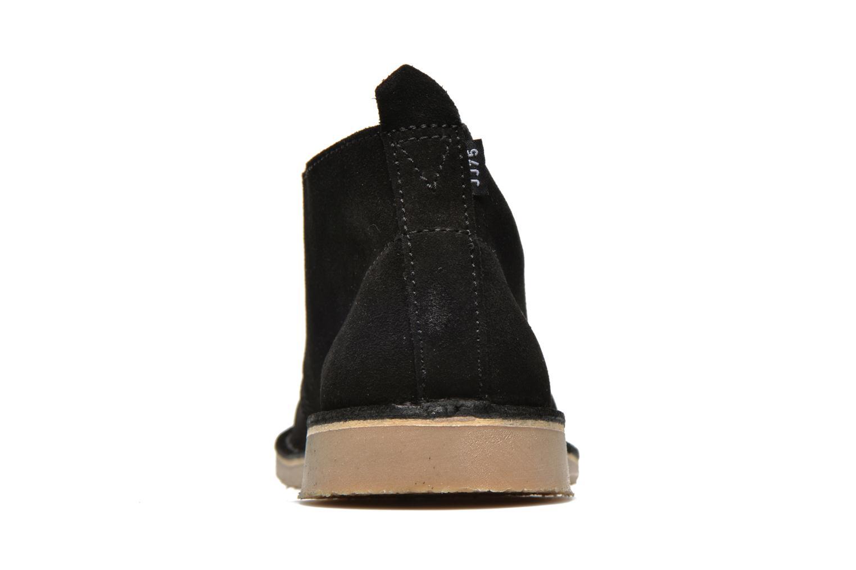 Chaussures à lacets Jack & Jones JJ Gobi Suede Desert Boot Noir vue droite