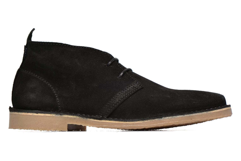 Chaussures à lacets Jack & Jones JJ Gobi Suede Desert Boot Noir vue derrière