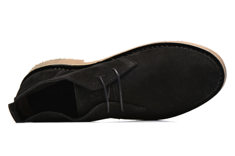 Chaussures à lacets Jack & Jones JJ Gobi Suede Desert Boot Noir vue gauche