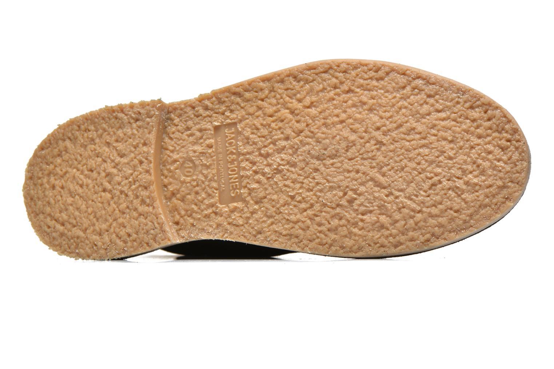 Chaussures à lacets Jack & Jones JJ Gobi Suede Desert Boot Noir vue haut