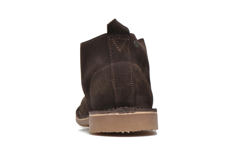 Chaussures à lacets Jack & Jones JJ Gobi Suede Desert Boot Marron vue droite