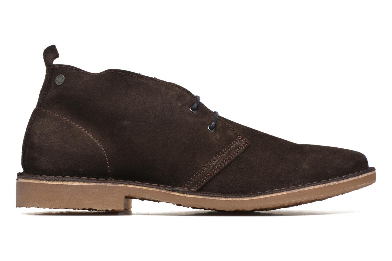 Chaussures à lacets Jack & Jones JJ Gobi Suede Desert Boot Marron vue derrière