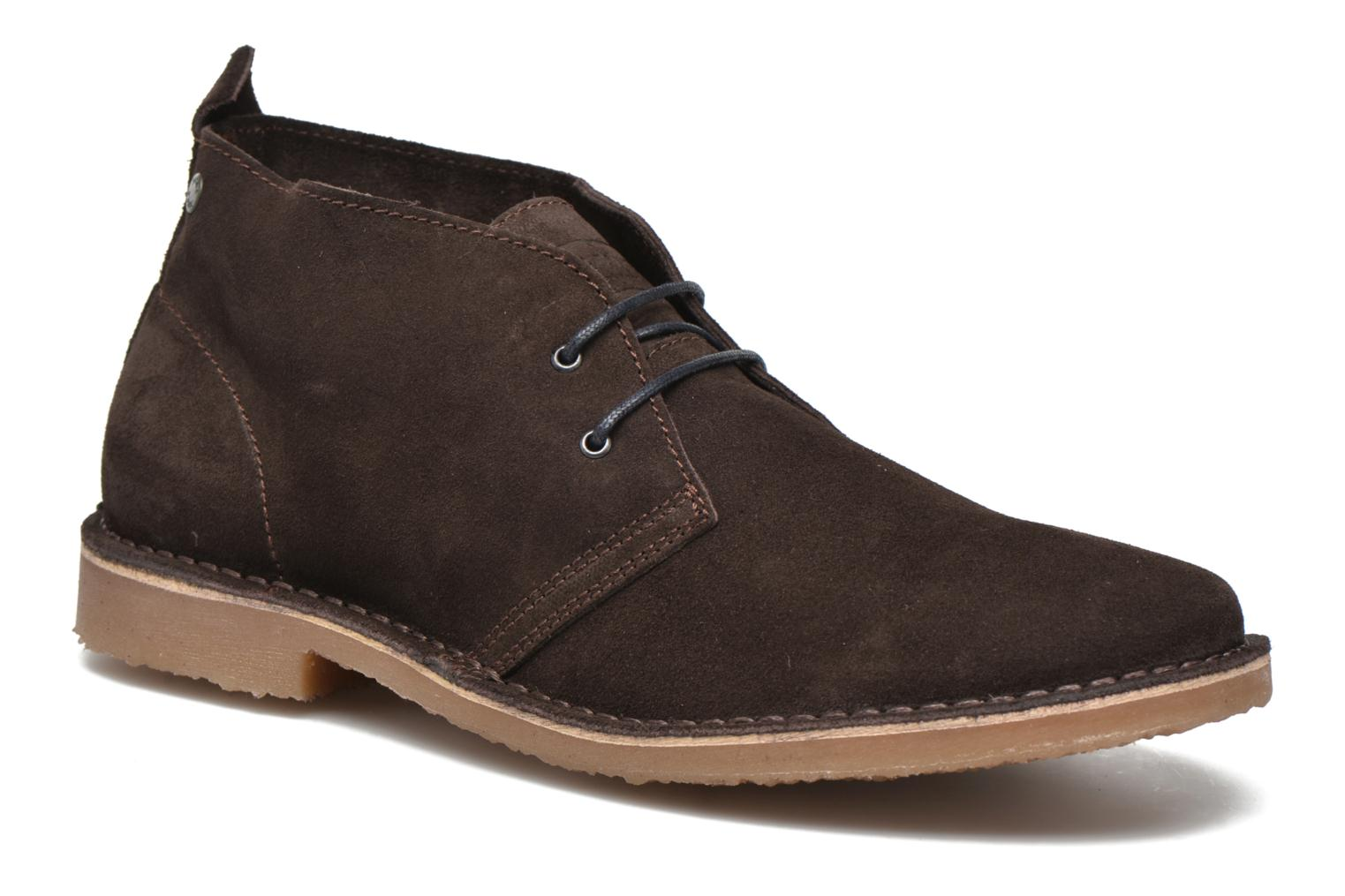 Lace-up shoes Jack & Jones JJ Gobi Suede Desert Boot Brown detailed view/ Pair view