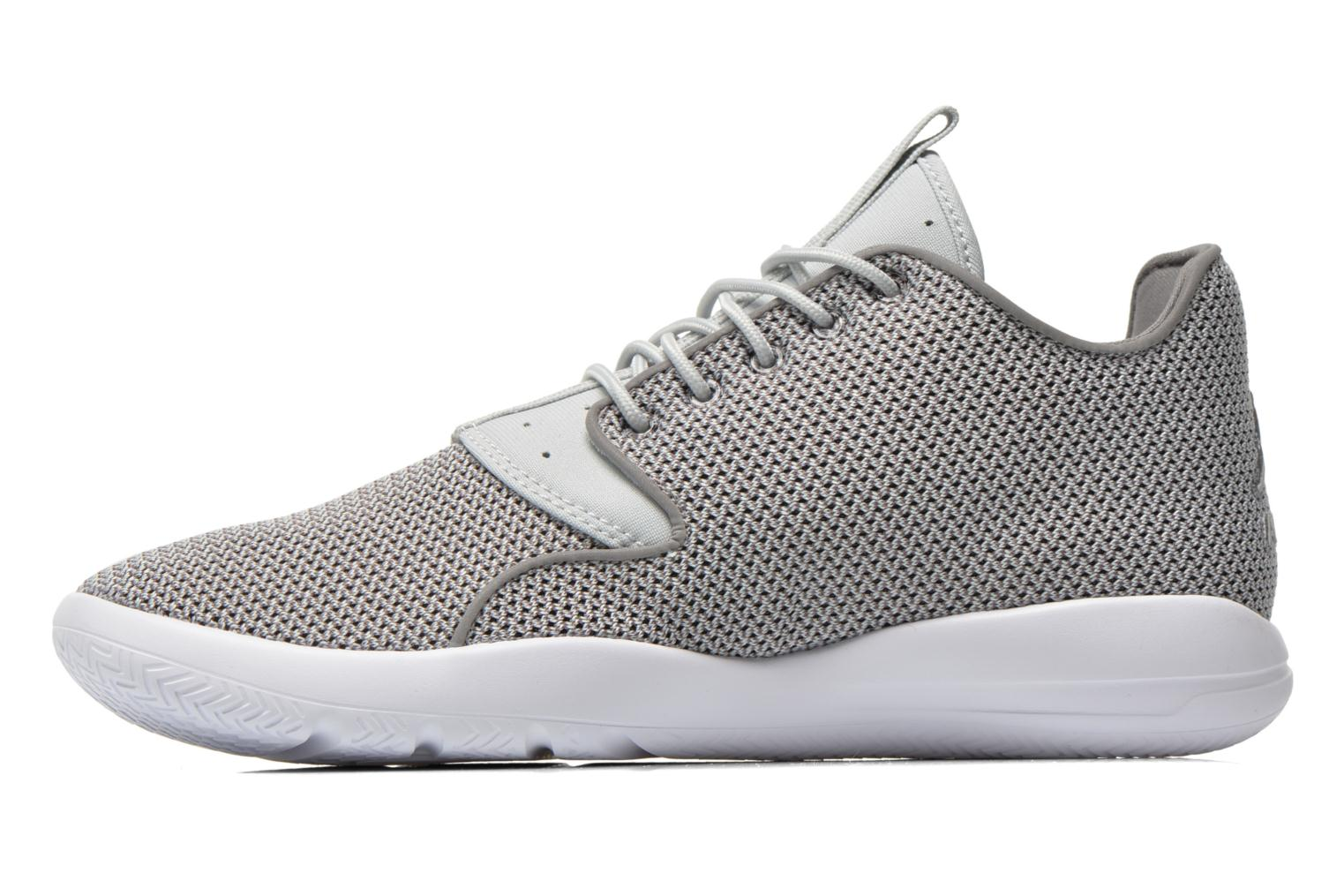 Lace-up shoes Jordan Jordan Eclipse Grey front view