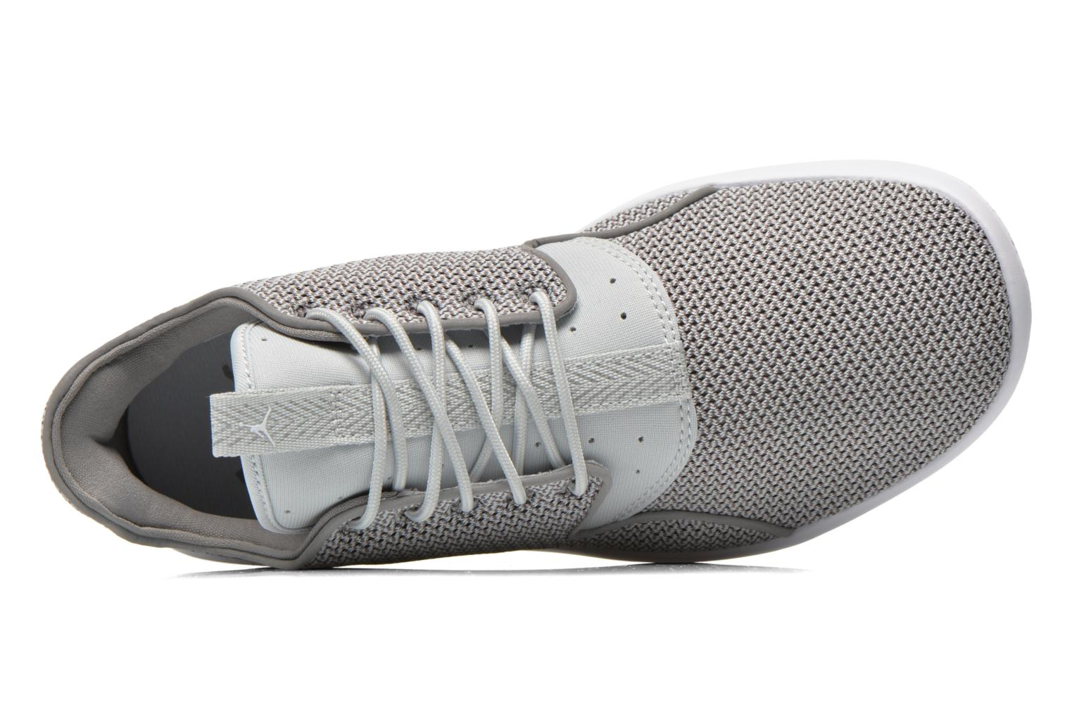 Lace-up shoes Jordan Jordan Eclipse Grey view from the left