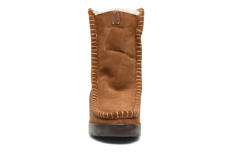 Bottines et boots Laidback London Wadabi Marron vue portées chaussures