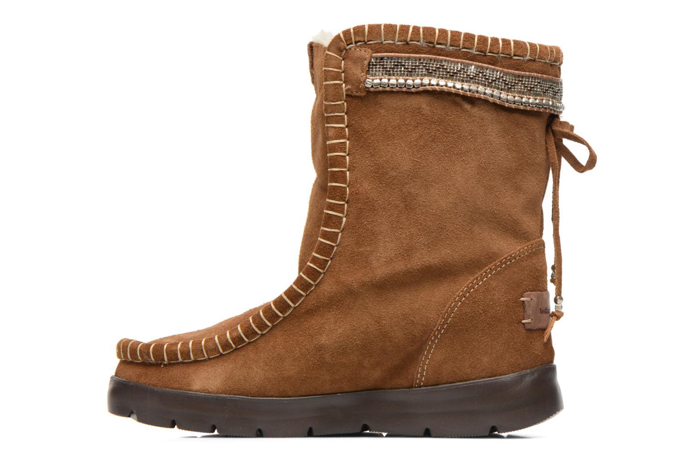 Bottines et boots Laidback London Wadabi Marron vue face