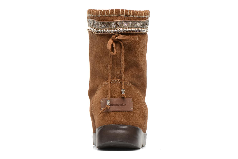 Bottines et boots Laidback London Wadabi Marron vue droite