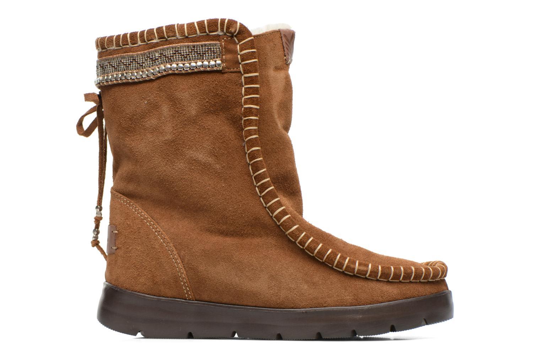 Bottines et boots Laidback London Wadabi Marron vue derrière