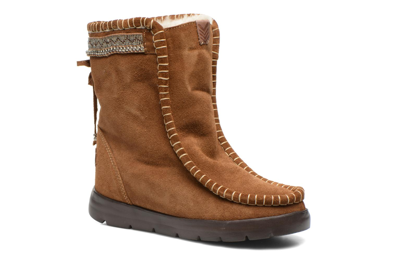 Bottines et boots Laidback London Wadabi Marron vue détail/paire