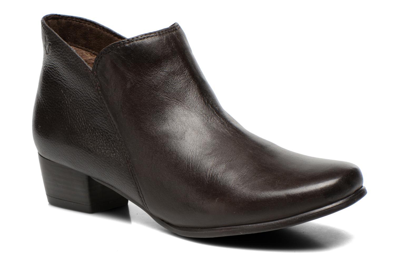 Bottines et boots Caprice Sandrine Marron vue détail/paire