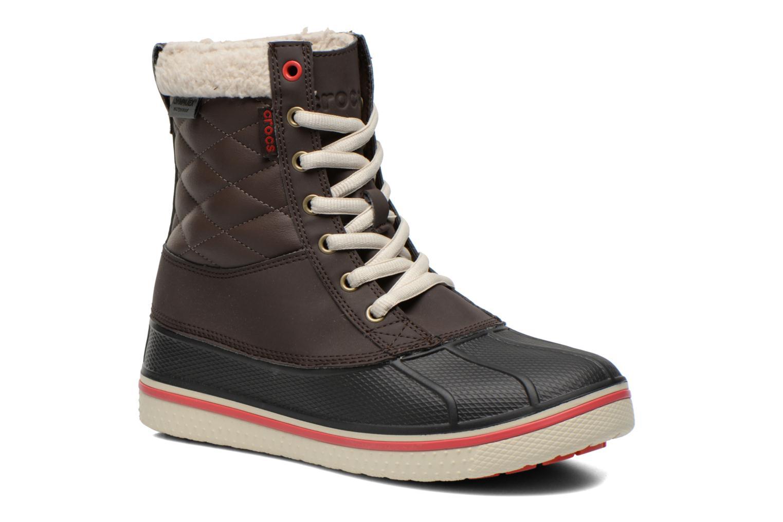 Los últimos zapatos de hombre y mujer Crocs AllCast Waterproof Duck Boot W (Marrón) - Botines  en Más cómodo