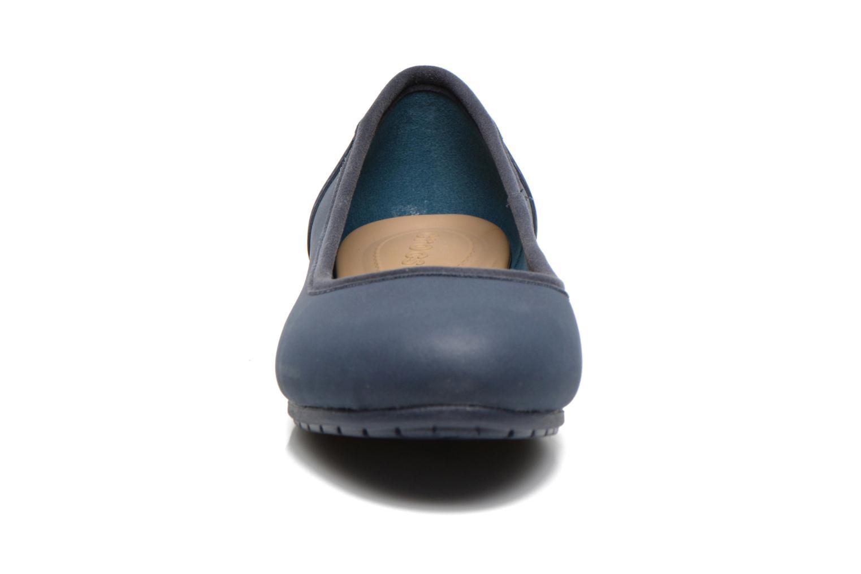 Ballerine Crocs Crocs ColorLite Ballet Flat Azzurro modello indossato