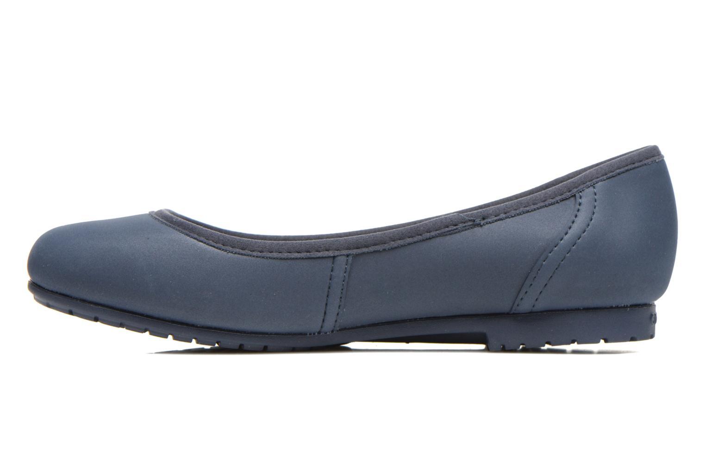 Ballerine Crocs Crocs ColorLite Ballet Flat Azzurro immagine frontale