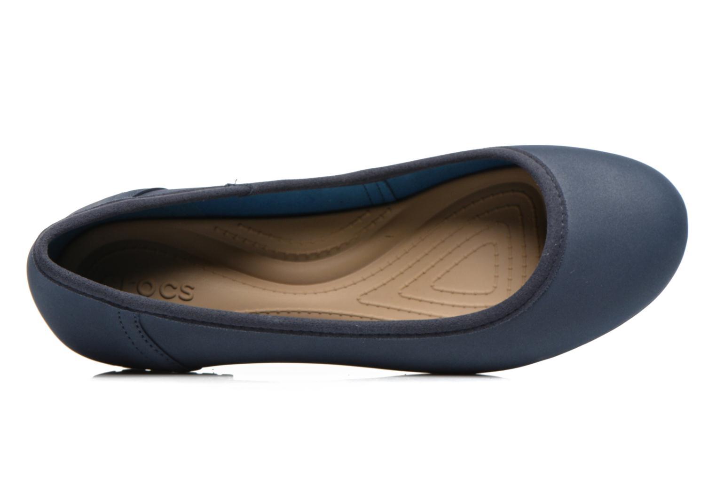 Ballerine Crocs Crocs ColorLite Ballet Flat Azzurro immagine sinistra