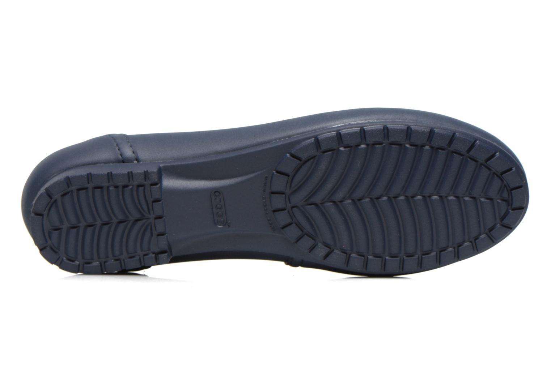 Ballerine Crocs Crocs ColorLite Ballet Flat Azzurro immagine dall'alto