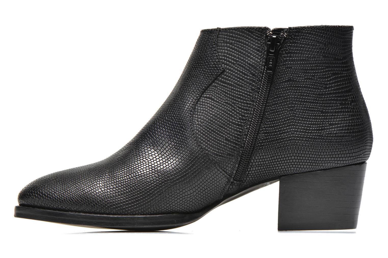 Bottines et boots COSMOPARIS Ermea Pyt Noir Noir vue face