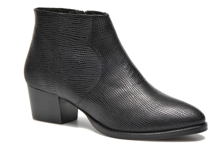 Bottines et boots COSMOPARIS Ermea Pyt Noir Noir vue détail/paire