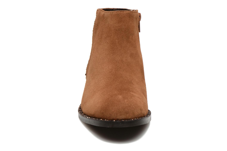 Stiefeletten & Boots COSMOPARIS Vonella braun schuhe getragen
