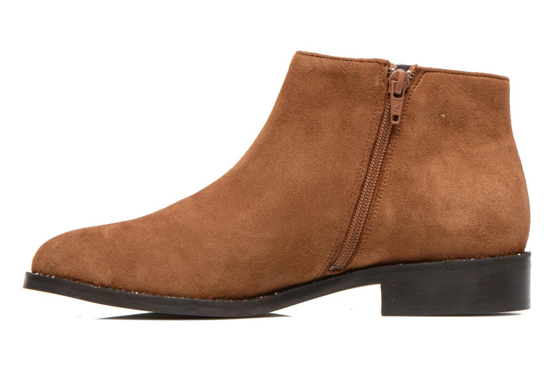Stiefeletten & Boots COSMOPARIS Vonella braun ansicht von vorne