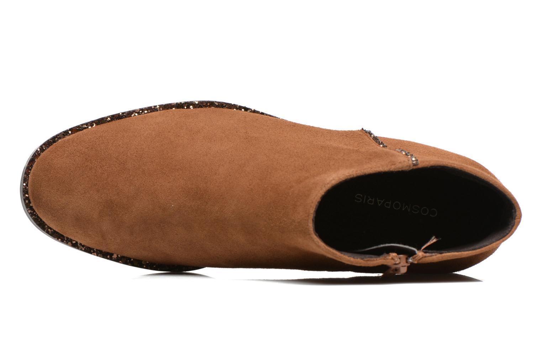 Stiefeletten & Boots COSMOPARIS Vonella braun ansicht von links