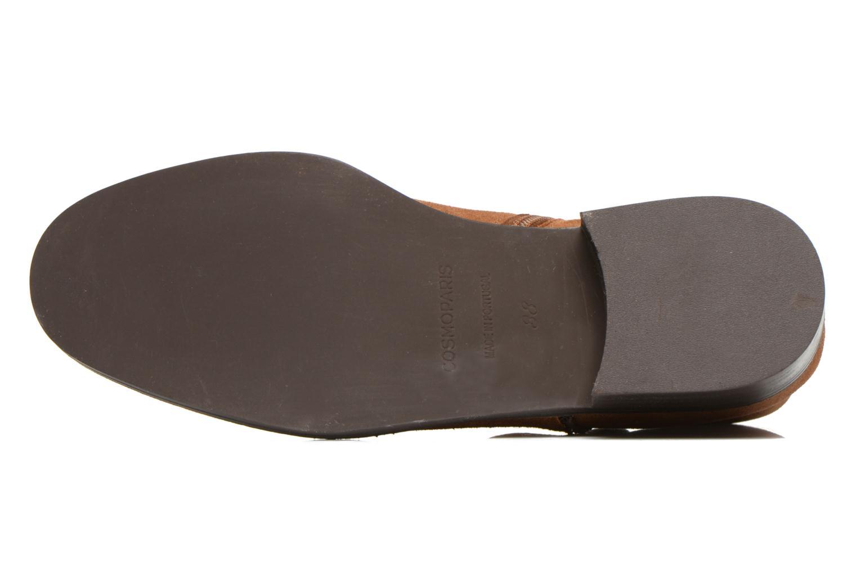 Stiefeletten & Boots COSMOPARIS Vonella braun ansicht von oben