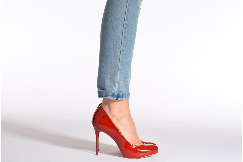 High heels COSMOPARIS JollaneVer Red view from underneath / model view