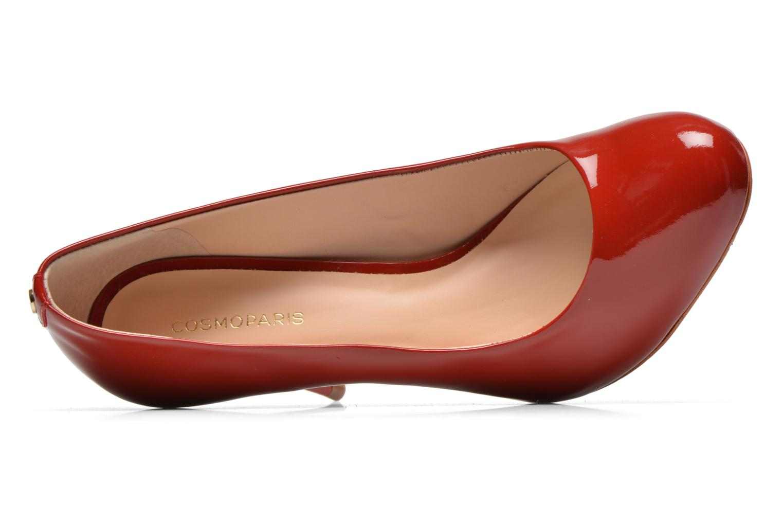 High heels COSMOPARIS JollaneVer Red view from the left