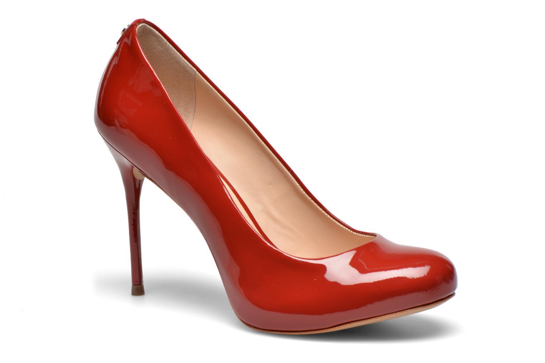 High heels COSMOPARIS JollaneVer Red detailed view/ Pair view