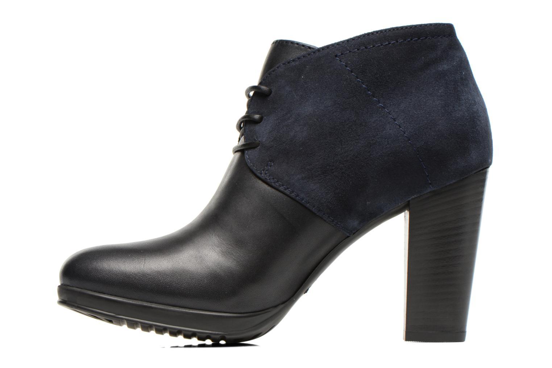 Chaussures à lacets COSMOPARIS Leffi/bi Bleu vue face