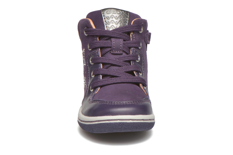 Baskets Geox B Flick G. K Violet vue portées chaussures
