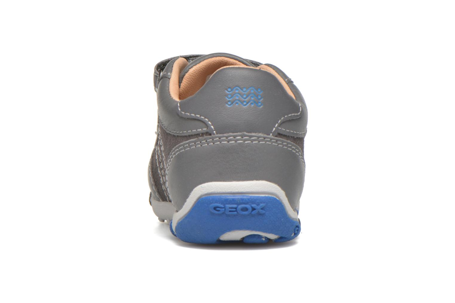 Trainers Geox B Balu' B. C Grey view from the right