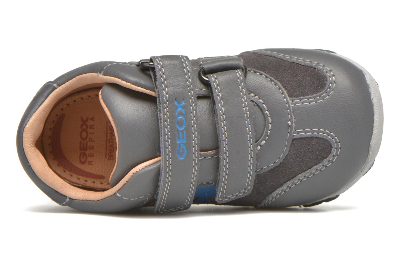Sneakers Geox B Balu' B. C Grigio immagine sinistra