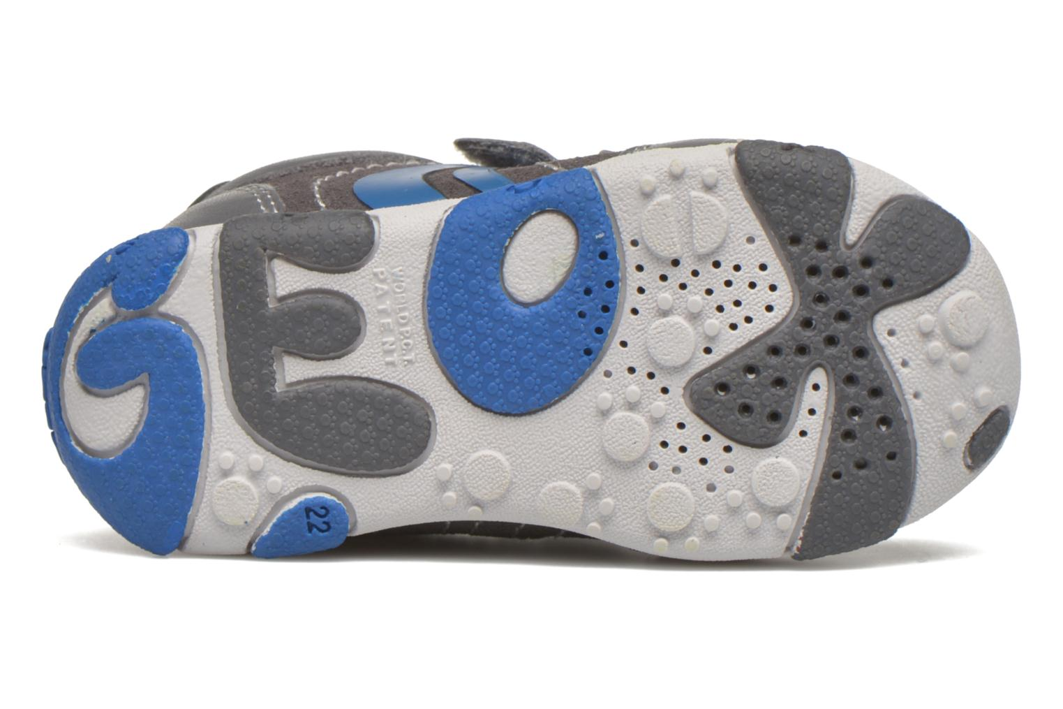 Trainers Geox B Balu' B. C Grey view from above
