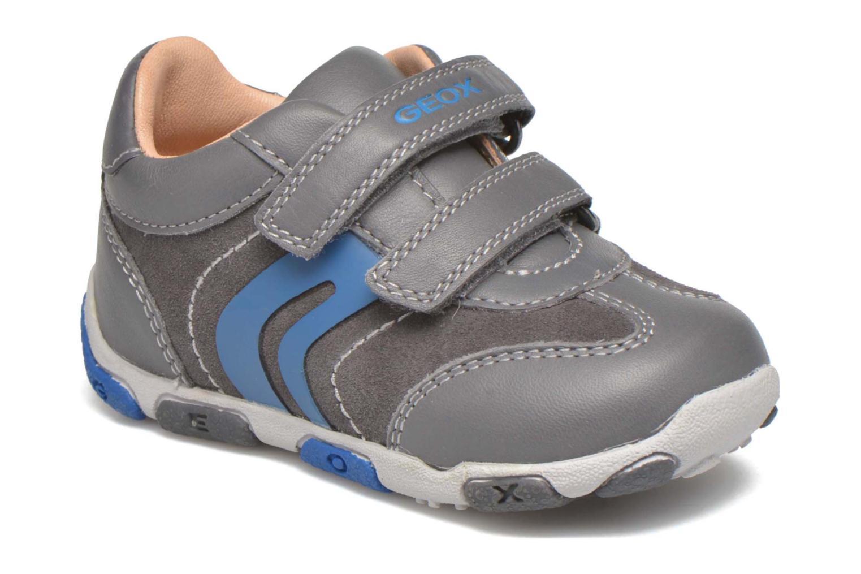 Sneakers Geox B Balu' B. C Grigio vedi dettaglio/paio