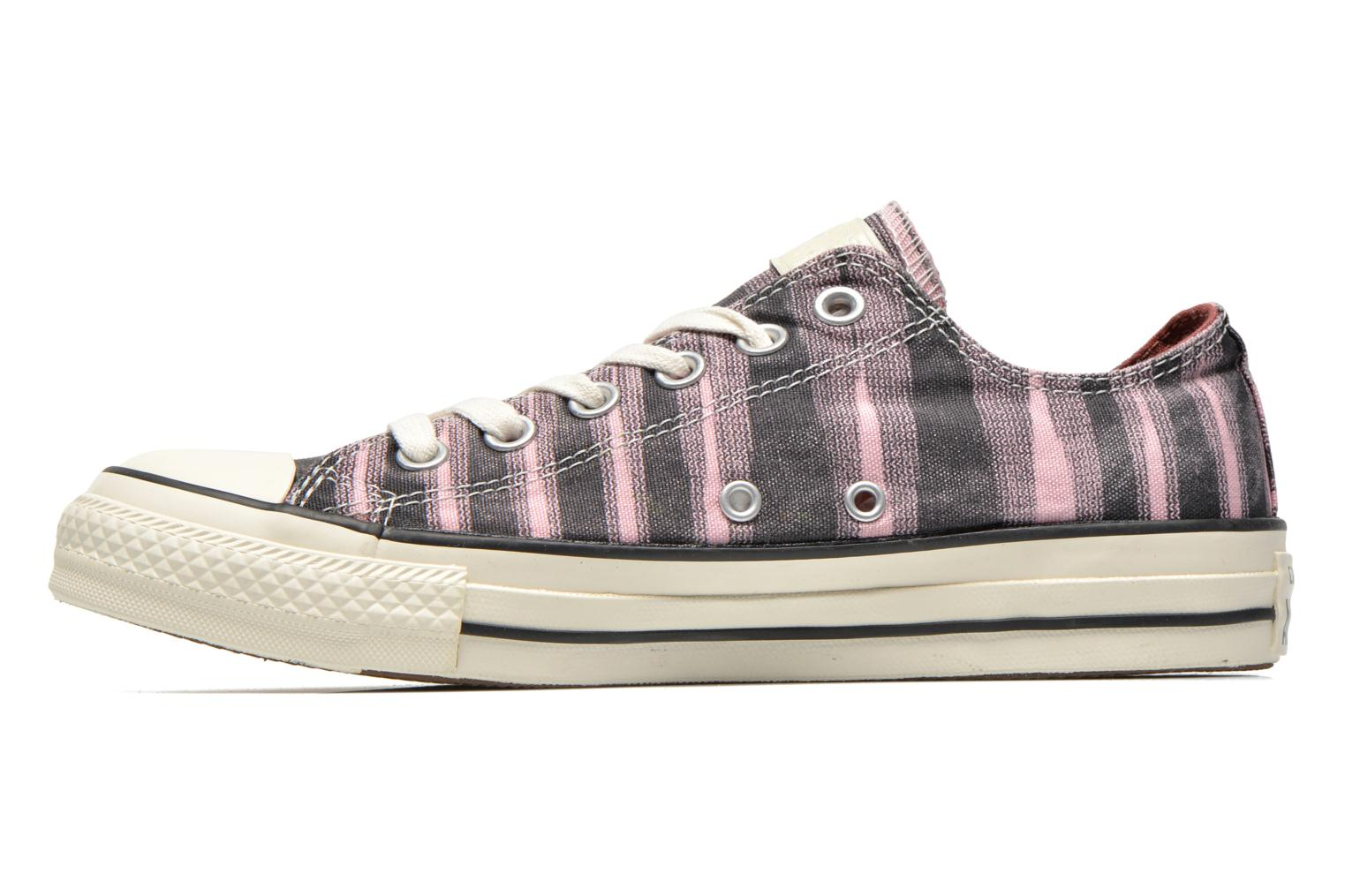 Baskets Converse Chuck Taylor All Star Missoni Ox W Rose vue face