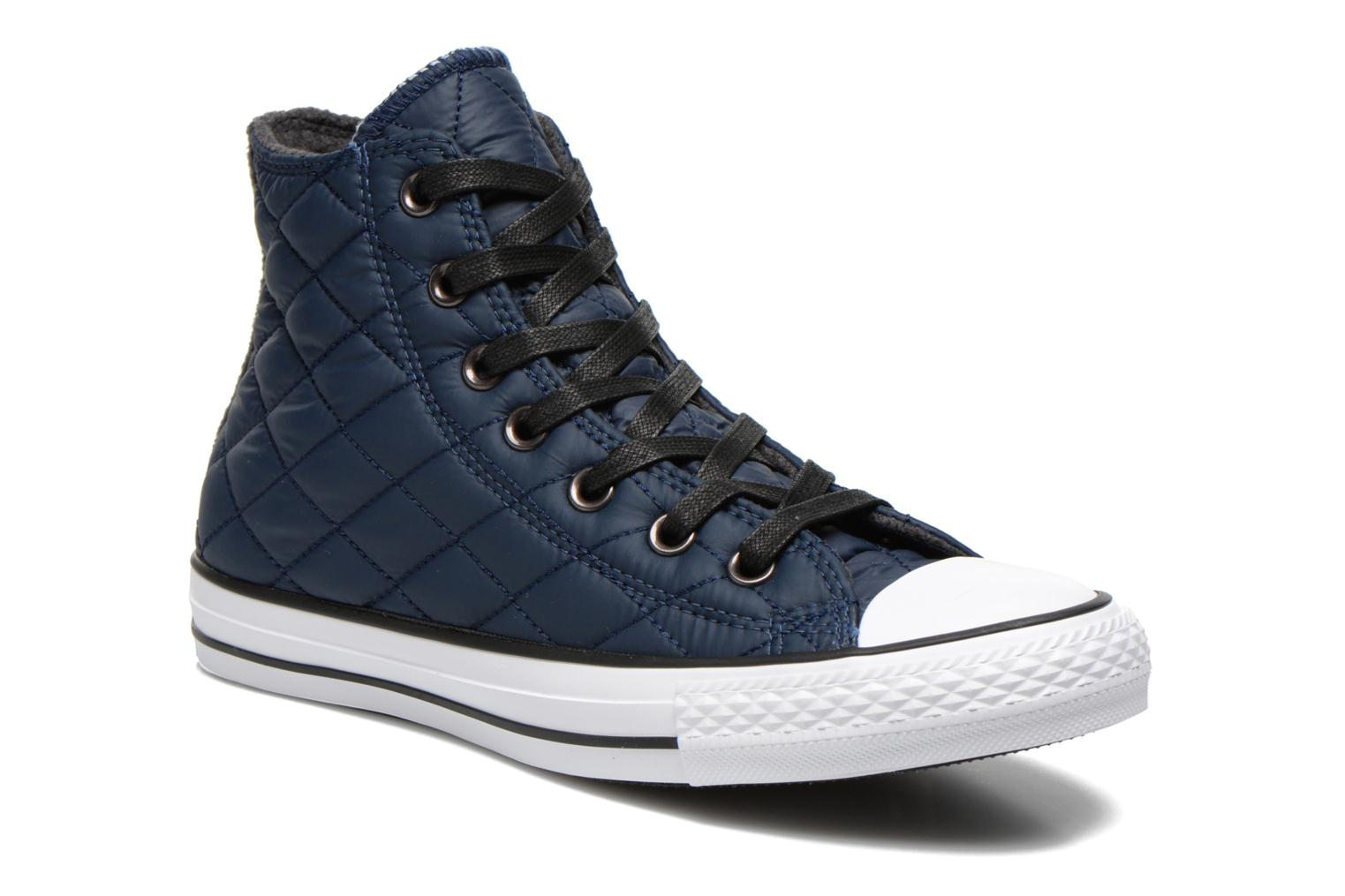 Trainers Converse Chuck Taylor All Star Quilted Hi W Blue detailed view/  Pair view