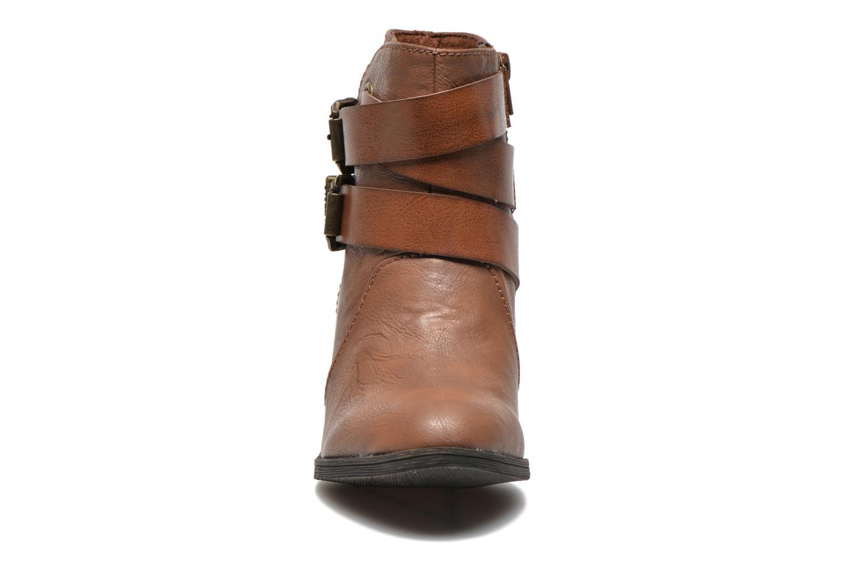Bottines et boots Blowfish Sworn Marron vue portées chaussures